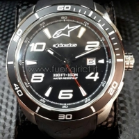 OROLOGIO ALPINESTARS TECH WATCH 3H STEEL SILICON STRAP MOTOGP MOTOCROSS