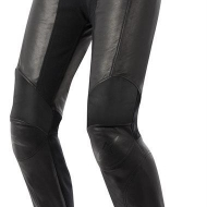 pantaloni Alpinestars Vika Donna in pelle nero fashion bike moto