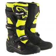 STIVALI  BIMBO MOTOCROSS ALPINESTARS TECH 7S BLACK YELLOW FLUO