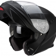 casco modulare moto scooter Scorpion EXO 920 matt black