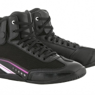 Scarpe Alpinestars STELLA AST 1 RIDING SHOE Black White Fuchsia
