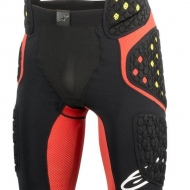 Pantaloncini protezioni Alpinestars SEQUENCE PRO SHORTS BLACK RED