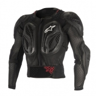 Protettore Giacca Bambino Alpinestars YOUTH BIONIC ACTION JACKET BLACK RED