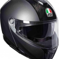 Casco Modulare AGV SPORTMODULAR NEW CARBON DARK GREY MONO