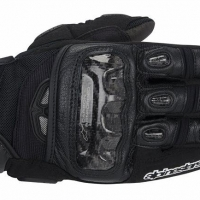 GUANTI ALPINESTARS GP AIR GLOVES PELLE ROAD RIDING TOUCH BLACK