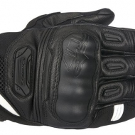 GUANTI ALPINESTARS HIGHLANDS GLOVES PELLE ROAD RIDING TOUCH BLACK