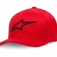 CAPPELLO ALPINESTARS AGELESS CURVE HAT RED MOTO SCOOTER ABBIGLIAMENTO CASUAL