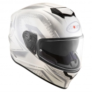 Casco integrale moto Suomy Stellar Shade helmet casque white grey pinlock