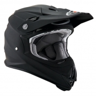 CASCO OFF ROAD MOTO CROSS SUOMY MR JUMP PLAIN BLACK MATT TRICARBOCO FIBRA