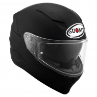 NEW CASCO INTEGRALE SUOMY SPEEDSTAR SPORT TOURING TRICARBOCO PLAIN MATT BLACK