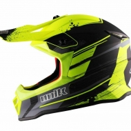 BIMBO CASCO MOTO SCOOTER CROSS UNIK INFANTIL CX-20 GIALLO FLUO NERO