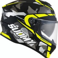 CASCO INTEGRALE MOTO SUOMY STELLAR RACE SQUAD MATT YELLOW PINLOCK SPORT TOURING