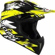 CASCO OFF ROAD MOTO CROSS FUORISTRADA SUOMY X-WING GAP YELLOW