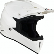 CASCO OFF ROAD MOTO CROSS FUORISTRADA SUOMY X-WING PLAIN BIANCO LUCIDO