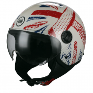 CASCO MOTO SCOOTER DEMI-JET BHR 801 ONE INGHILTERRA A