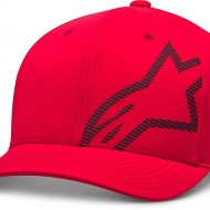 CAPPELLO ALPINESTARS CORP SHIFT WP TECH HAT CON VISIERA ROSSO
